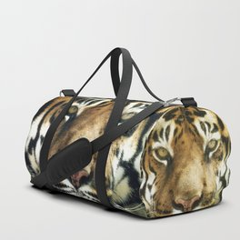Face of Tiger Duffle Bag