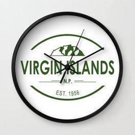 Virgin Islands National Park Wall Clock