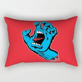 Screaming Hand (1985) Rectangular Pillow