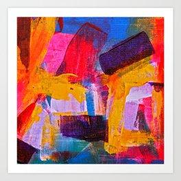paint mix m Art Print