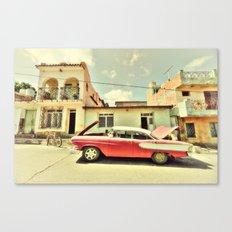 Trinidad Edsel Canvas Print