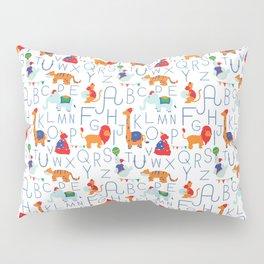 Alphabet Circus Pillow Sham