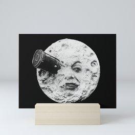 A Trip to the Moon 1902 - Artwork for Wall Art, Prints, Posters, Tshirts, Men Women Kids Mini Art Print