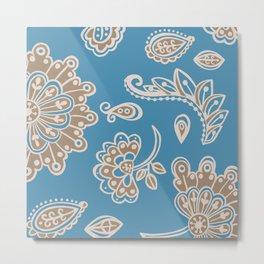 Moroccan Rug - Digital Art  Metal Print
