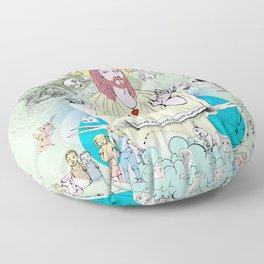 Jesus - Sed libera nos a malo Floor Pillow