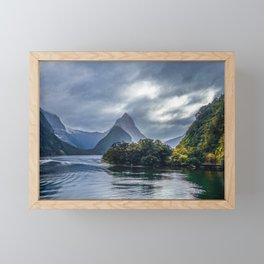 Milford Sound, fiordland national park, New Zealand Framed Mini Art Print