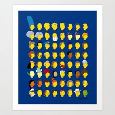 Springfield Follicles Art Print