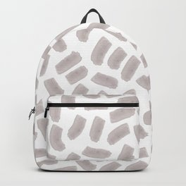 Watercolor on white Backpack