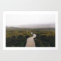 The Overland track - Tasmania Art Print