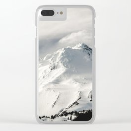 Marvelous Mount Hood Clear iPhone Case