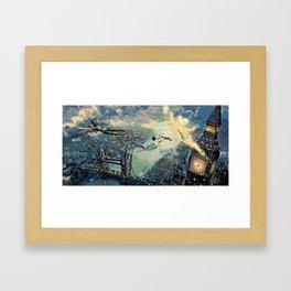 Peter Pan Framed Art Print