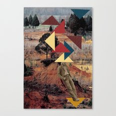 you bored of triangles yet? Canvas Print