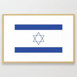 Israeli Flag Framed Art Print