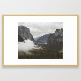Tunnel View | Yosemite, California | John Hill Photography Framed Art Print