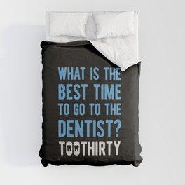 Funny Dentist Comforters