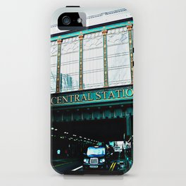 Central Station iPhone Case