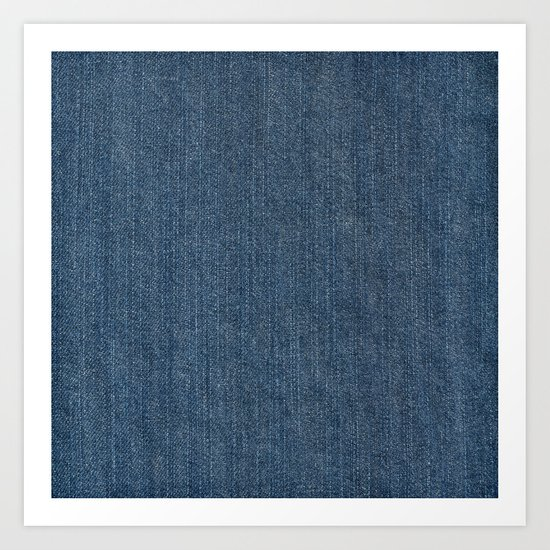Blue Denim Texture by clikchic