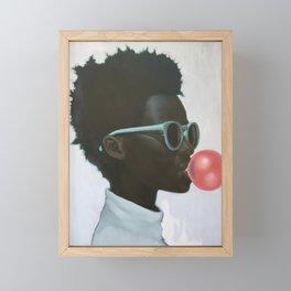 How far is a light year Framed Mini Art Print