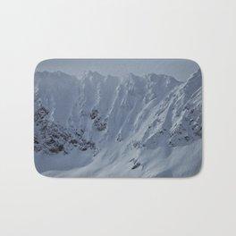 Alaska Mountains Bath Mat