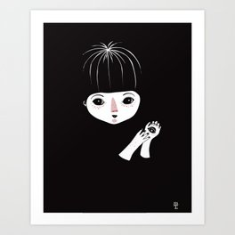 Penny's Palm Art Print