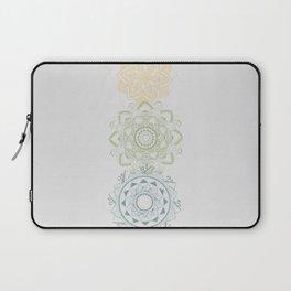 Chakra mandalas Laptop Sleeve