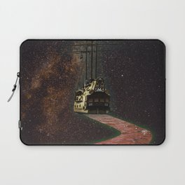 Space Ship Laptop Sleeve