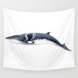 Baby Minke whale Wall Tapestry