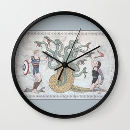 Steve, Bucky and the Hydra Wall Clock