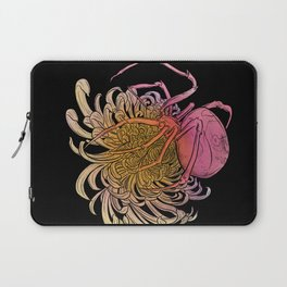 Chrysanthemum & Spider Laptop Sleeve
