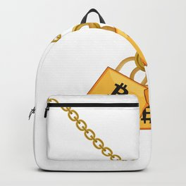 Bitcoin Cool Cryptocurrency Funny Necklace Backpack