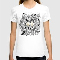 black and gold T-shirts featuring As If – Black & Gold by Cat Coquillette