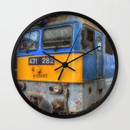 H-Start Train Keleti Station Wall Clock