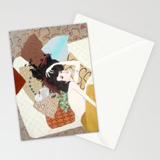 I's drown in burgundy for you Stationery Cards