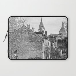 Sacre Coeur view Montmartre Paris Laptop Sleeve