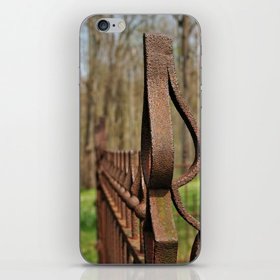 Rusted Wrought Iron.... iPhone Skin