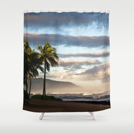 North Shore Hawaii Shower Curtain