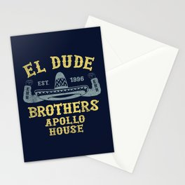 The Peep Show - El Dude Brothers Stationery Cards