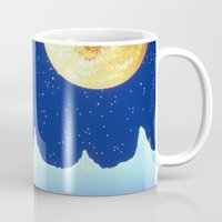 astronaut Mugs featuring Astronaut   by Spirit Tooth