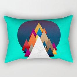 066 - Owly climbing the coloured holy mountain Rectangular Pillow