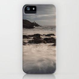 Sea foam on Bracelet Bay iPhone Case
