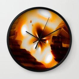 """""""Bridge To The Sun"""" Wall Clock"""