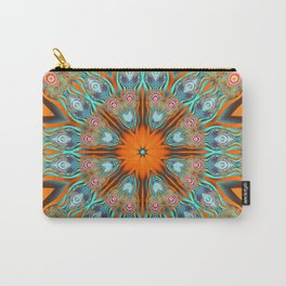 Star shape kaleidoscope with playful patterns Carry-All Pouch