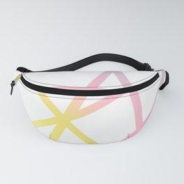 Rainbow x Unicorn Color Fanny Pack
