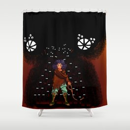 Lovecraft Cuties Set 01: The Mother to a Thousand Young ShuNi Shower Curtain