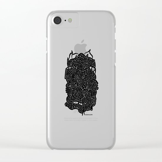 - nudity - Clear iPhone Case