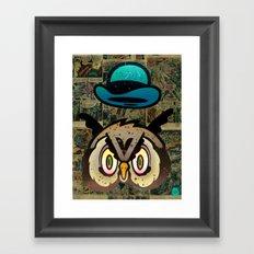 Owl Howl Framed Art Print