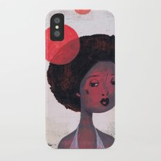 AFRO PSYCHE iPhone X Slim Case