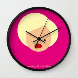 FC-Monroe Wall Clock