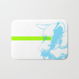 Brave, the dog Bath Mat