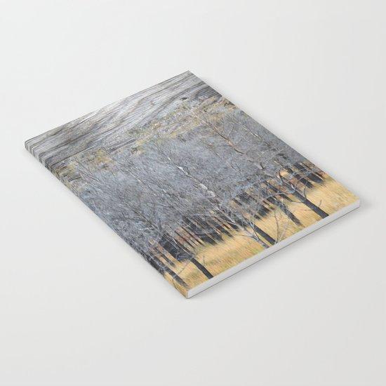 Wood on wood Notebook